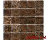 Керамическая плитка Мозаика T-MOS G14 (L), 48x48 коричневый 480x480x4 глянцевая