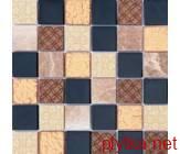 Мозаика Mix Bronze , 300x300 коричневый 300x300x0