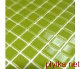 Мозаика B 012, 30х30 зеленый 300x300x0 глянцевая