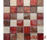 Мозаика MIX RED, 30х30 красный 300x300x0 глянцевая