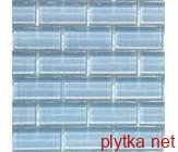 Мозаика T-MOS H337, 30х32,4 голубой 300x324x8 глянцевая