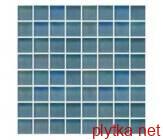 Керамическая плитка Мозаика T-MOS MATT+METALLIC GR04 SHADOW WINTER синий 300x300x6