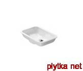 CANOVA ROYAL Раковина встраиваемая без отв.под смеситель, белая 55х38