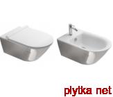 Gold&Silver Биде подвесное 35х55 см с 1 отв.под смеситель, белый/серебро