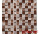 Керамическая плитка Мозаика DAF9 микс 300x300x0