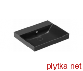 NEW ZERO Раковина 60х50 см, черная матовая