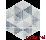 HEXX UNIVERSUM MOTYW GRIGIO HEKSAGON 26X26 G1