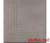 Керамическая плитка LOFT GREY STEPTREAD CORNER 300x300x11