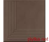 Керамическая плитка LOFT BROWN STEPTREAD CORNER 300x300x11