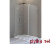 ARTA бокова стінка S1 110  хром+/прозоре