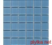Керамическая плитка Мозаика CM19 синий 25x25x0