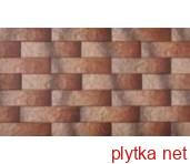 Плитка Клинкер ELEWACJA RUSTICO ALASKA оранжевый 65x245x6 структурированная