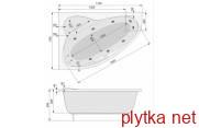 Ванна+ноги+гидромассажная система ECONOMY 1