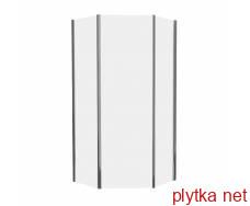 stefani душ кабіна без піддону 100*100*190 см, п'ятикутних (стекла + двері) прозрачная-выписывать з комплектом 599-535/3