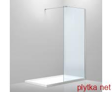 стінка 1000*2000, мм, розжарене прозоре скло 8 мм