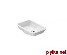 CANOVA ROYAL Раковина встраиваемая без отв.под смеситель, белая 50х35
