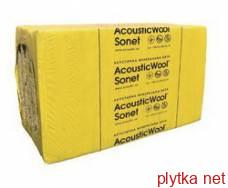 AcousticWool Sonet, 48 кг/м3, акустическая минеральная вата, (6,0 м2 /упак.),1000 х 600 х 50